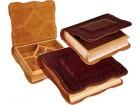 Drvene kutije za nakit obložene prirod.kožom,3 veličine