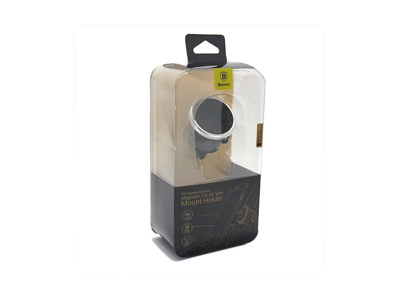 Drzac za mobilni telefon BASEUS 360 Rotation magnet AIR srebrni (MS)