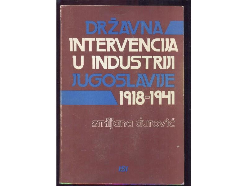 Državna intervencija u industriji Jugoslavije 1918-1941
