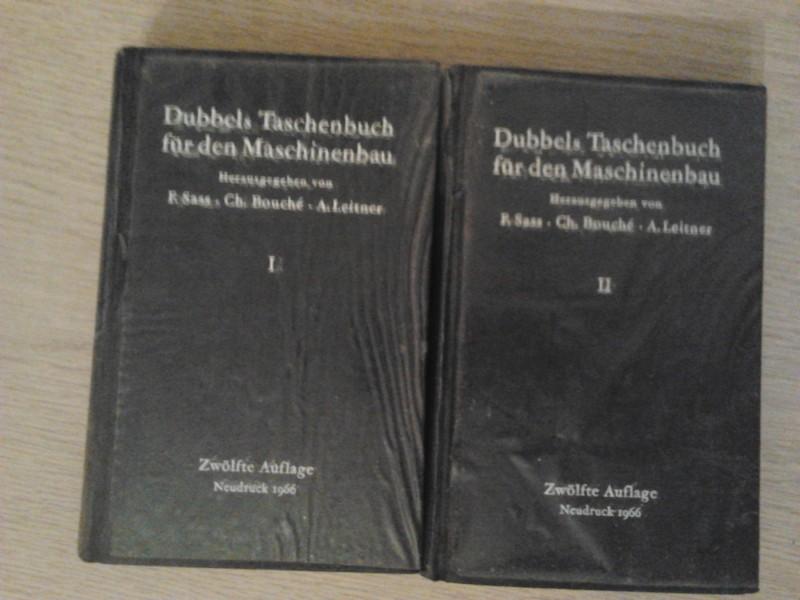 Dubbels Taschenbuch fur den Maschinenbau 1 i 2