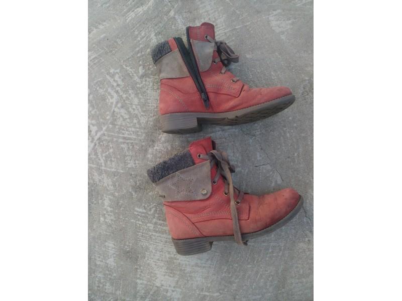 Duboke zimske kožne cipele