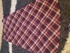 Duga vunena suknja