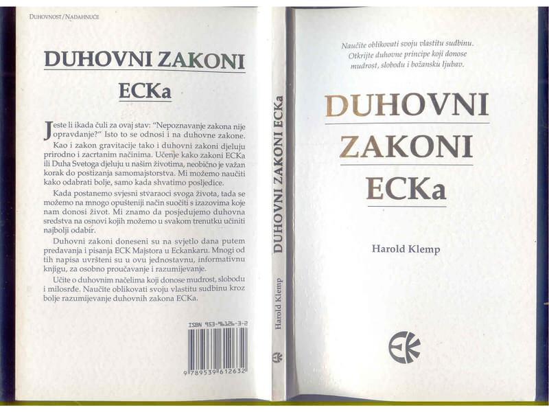Duhovni zakon ECKa Harold Klemp