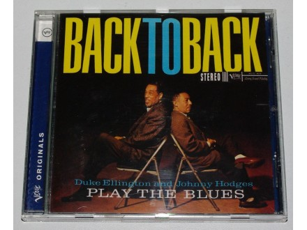 Duke Ellington &; Johnny Hodges - Back To Back