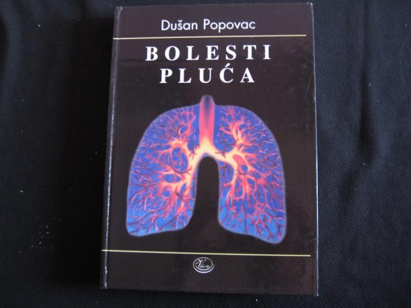 Dušan Pupovac, BOLESTI PLUĆA