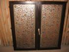 Dva dvokrilna vakum drvena prozora u dobrom stanju