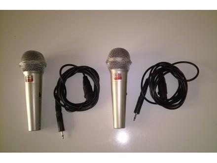 Dva profesionalna mikrofona