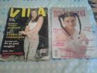 Dva stara ženska časopisa Nadanova i Viva iz 1998i 2001
