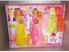 Dve Barbike set sa 5 haljina