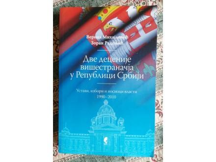 Dve decenije višestranačja u Republici Srbiji