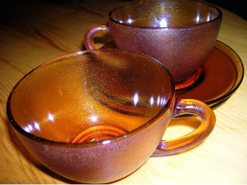 Dve solje za caj ili kafu
