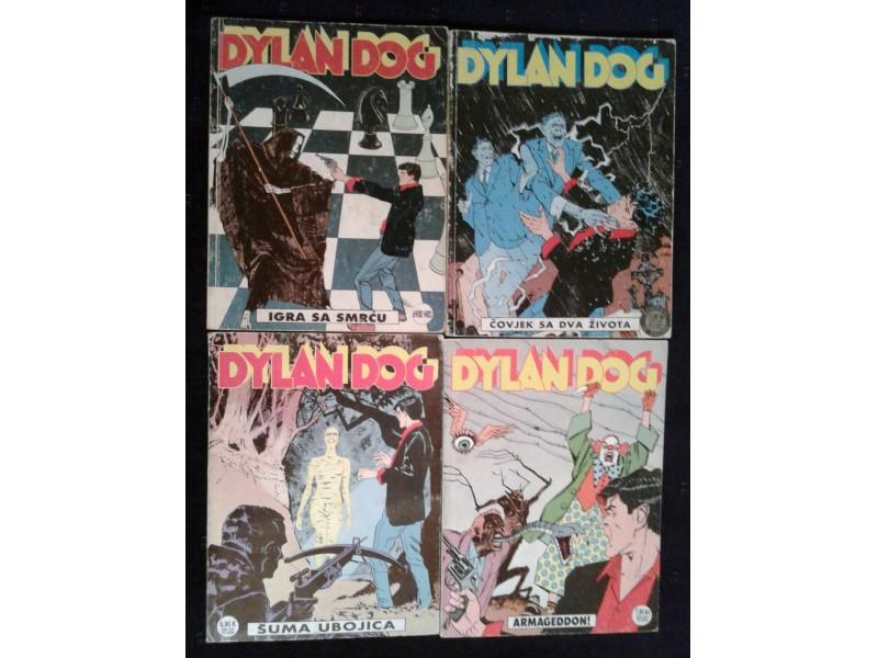 Dylan Dog Slobodna Dalmacija - 4 broja