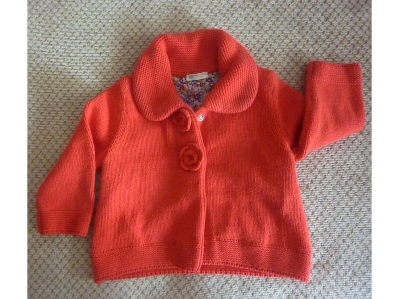 Džemperić-jaknica Beneton, za 9mes-1 god, postavljen