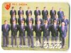 Džepni kalendar `FK Crvena Zvezda 1987 godina`