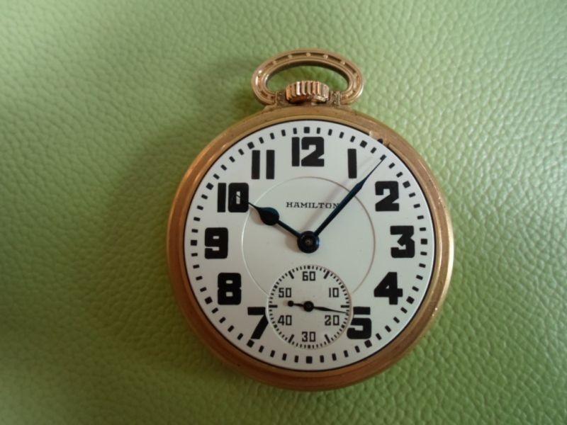 upoznavanje s džepnim satovima Hamilton