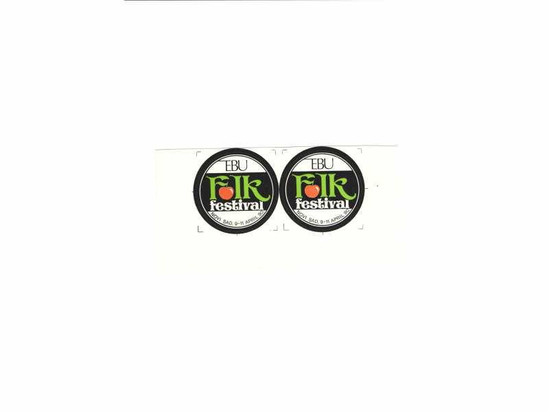 EBU Folk - nalepnice  5,5 cm