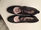 ECCO NOVE kožne crne cipele, tango stil, br. 40