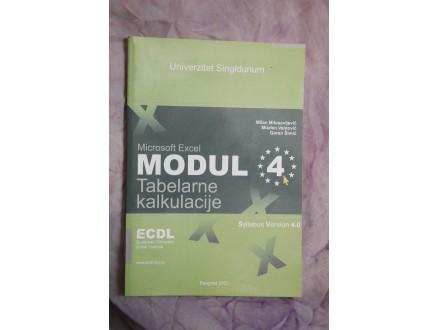 ECDL MODUL 4 - Tabelarne kalkulacije
