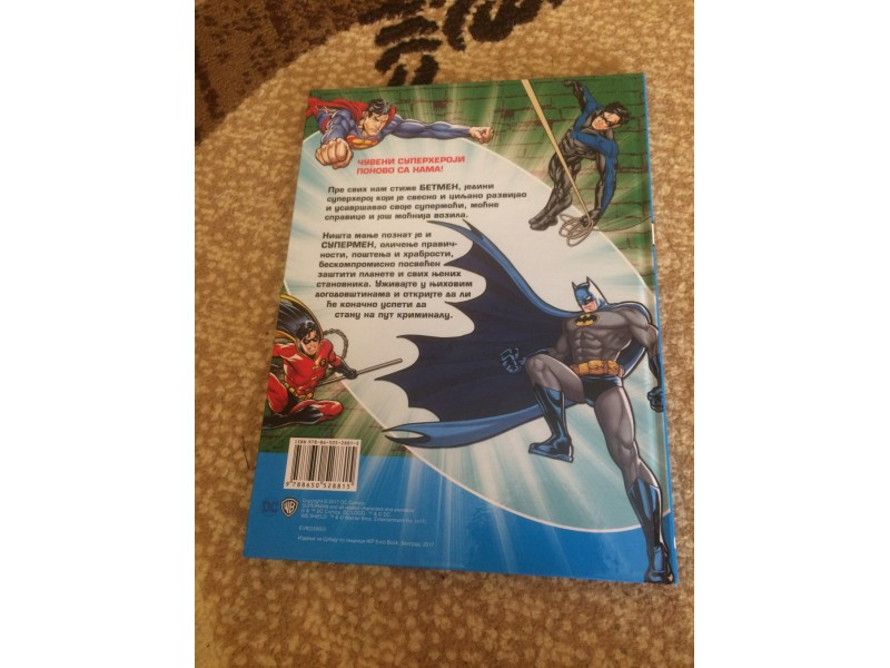 EDICIJA : ` MOJI OMILJENI SUPERHEROJI - SUPERMAN 8