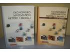 EKONOMSKO MATEMATIČKI METODI I MODELI udžbenik + zbirka