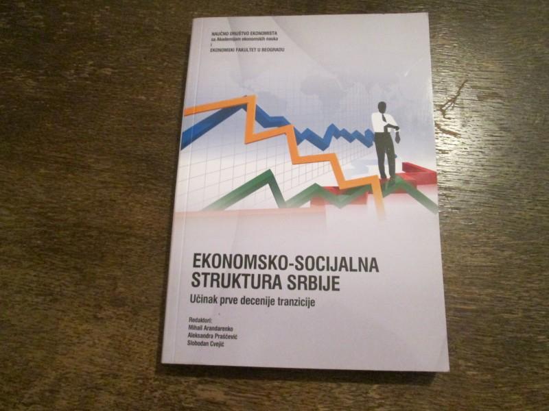 EKONOMSKO-SOCIJALNA  STRUKTURA  SRBIJE