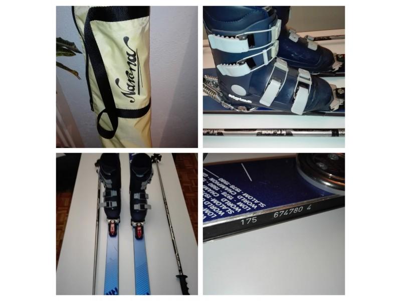 ELAN 800 skije FULL štapovi +Gratis Gojzerice Rukavice