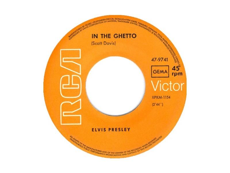 ELVIS PRESLEY - In The Ghetto (Made in Germany)