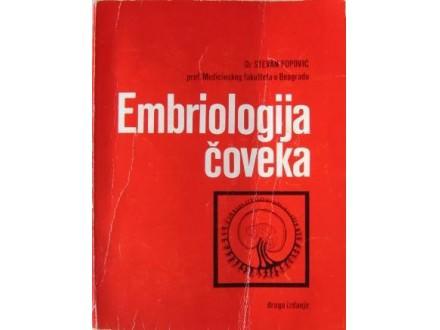 EMBRIOLOGIJA ČOVEKA - Dr Stevan Popović