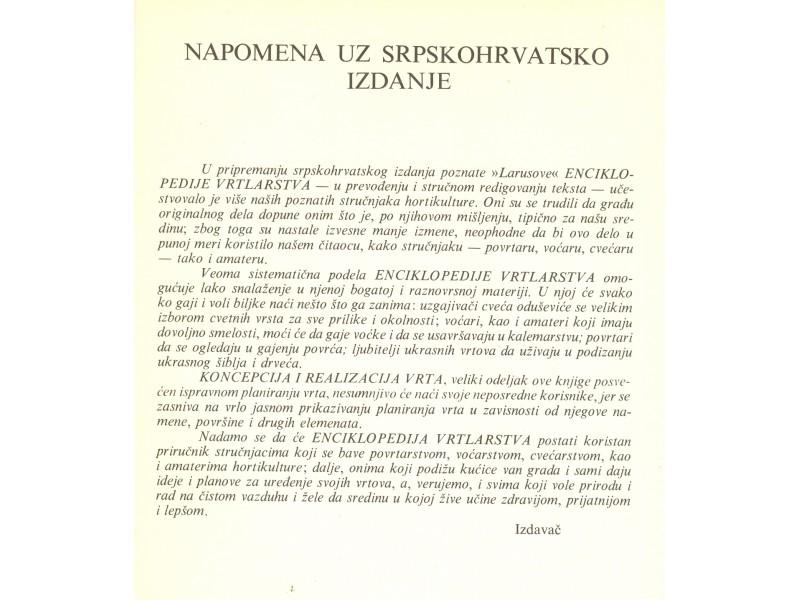 ENCIKLOPEDIJA VRTLARSTVA - Moris Kutanso