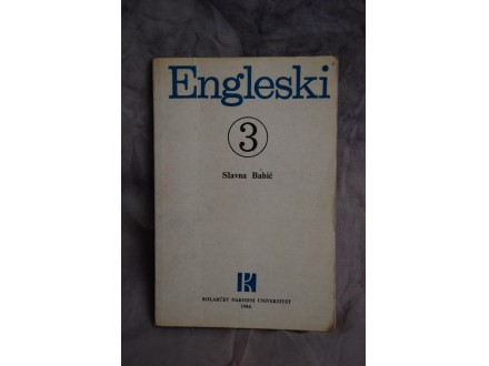 ENGLESKI 3