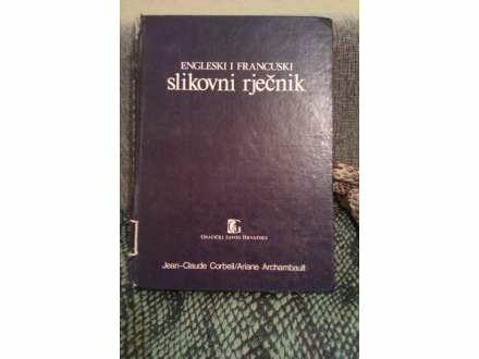 ENGLESKI I FRANCUSKI SLIKOVNI RJEČNIK