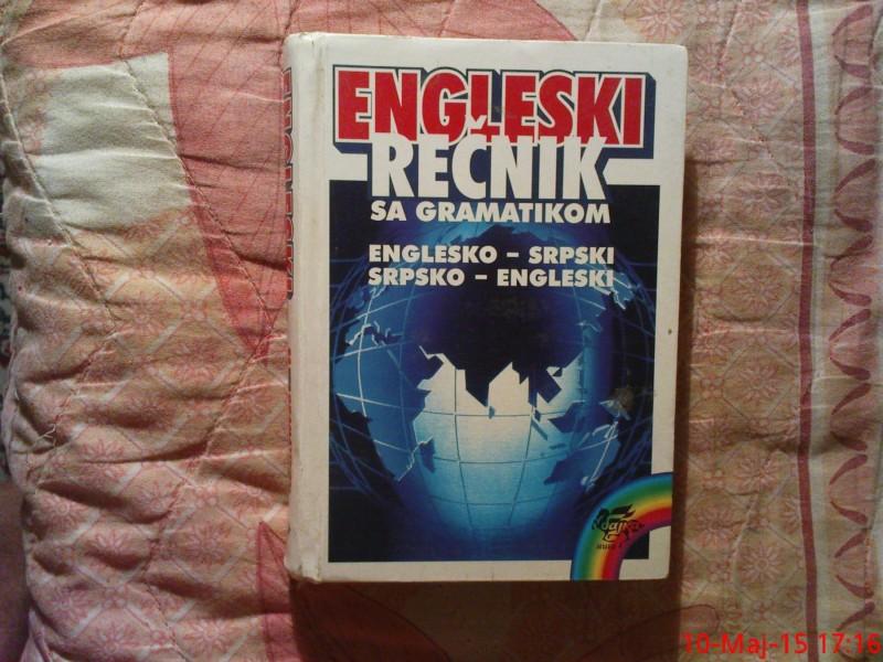 ENGLESKI RECNIK SA GRAMATIKOM - ENGLESKO - SRPSKI