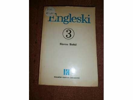 ENGLESKI  knjiga br.3  kolarac