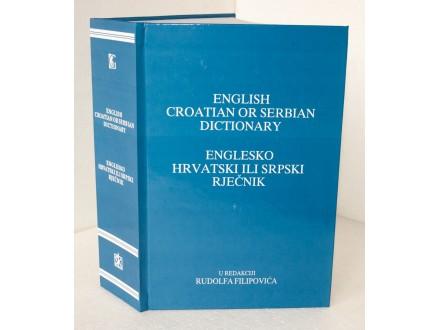 ENGLESKO HRVATSKI ILI SRPSKI RJEČNIK Rudolf Filipović
