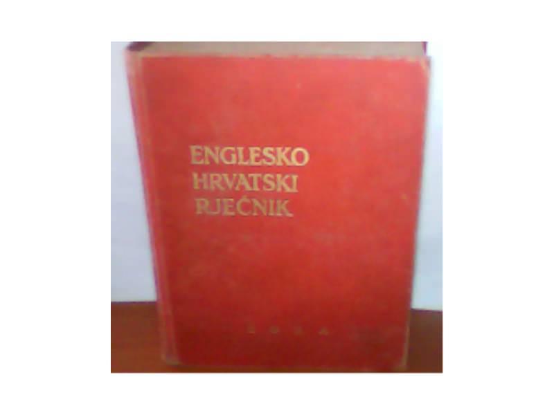 ENGLESKO-HRVATSKI RJECNIK. DR.RUDOLF FILIPOVIC