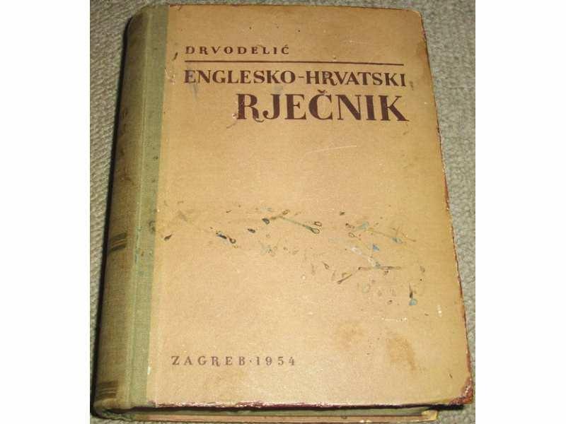 ENGLESKO-HRVATSKOSRPSKI RJEČNIK - Milan Drvodelić