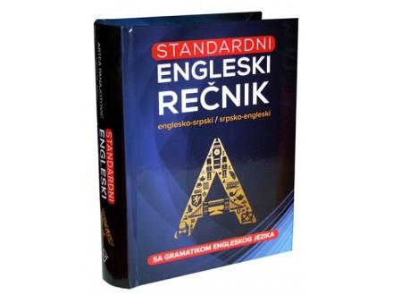ENGLESKO-SRPSKI I SRPSKO-ENGLESKI STANDARDNI REČNIK SA GRAMATIKOM - Grupa autora