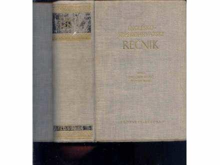 ENGLESKO-SRPSKI RECNIK - RISTIC-SIMIC