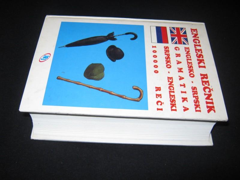 ENGLESKO - SRPSKI REČNIK
