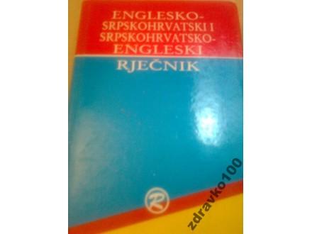 ENGLESKO SRPSKI-SRPSKO ENGLESKI RJEČNIK