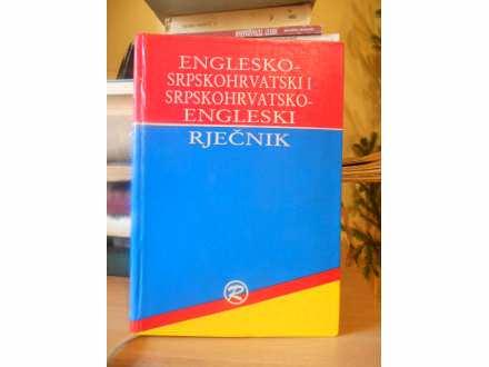 ENGLESKO-SRPSKOHRVATSKI I SRPSKOHRVATSKI RJECNIK