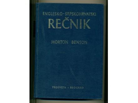 ENGLESKO - SRPSKOHRVATSKI REČNIK  Morton Benson