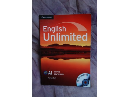 ENGLISH UNLIMITTED - A1 starter coursebook