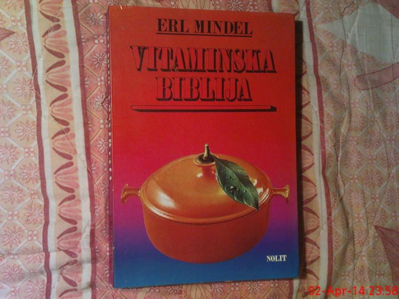 ERL MINDEL  -   VITAMINSKA  BIBLIJA