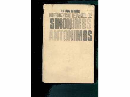 ESPANOL SINONIMOS Y ANTINOMOS (1150 STR) KAPITALNO IZD.