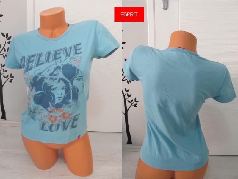 ESPRIT plava majica sa printom vel. M