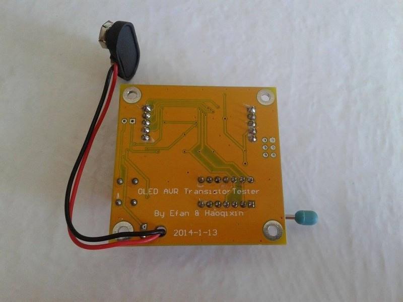 ESR, LCR metar - Tranzistor tester- OLED tester