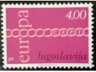 EUROPA CEPT 1971 ABKLAČ BOJE