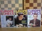 EUROPE ECHECS (Francuski magazin o sahu) 3 broja