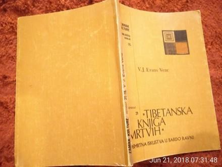 EVANS VENC, TIBETANSKA KNJIG MRTVIH